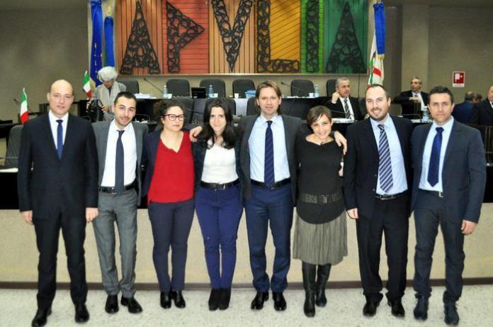 gruppo M5S alla Regione Puglia (ph ANSA PUGLIA)