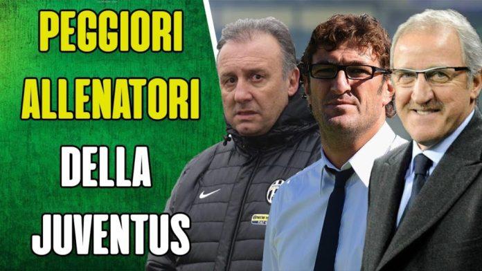 I peggiori allenatori della storia della Juventus