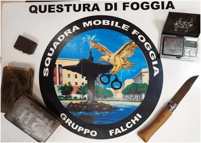 DROGA SEQUESTRO FOGGIA, 14.09.2019
