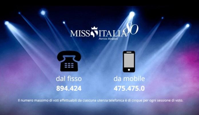 televoto Miss Italia