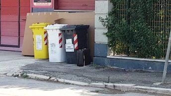 valigia pacco sospetto via manfredonia fg (4)