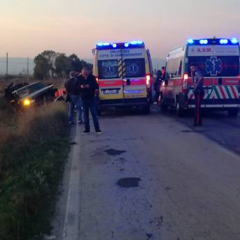 INCIDENTE SP141 ZAPPONETA MANFREDONIA
