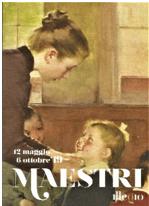 """Scuola materna"" olio 1898 di H. J. Jean Geoffroy Paris. Centre Nazional des Arts Plastiques"
