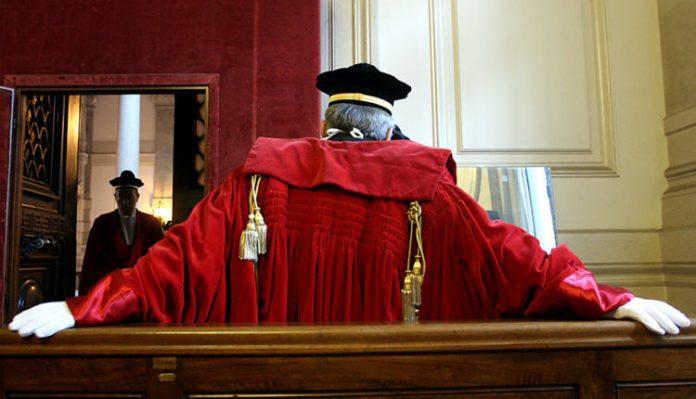 © Roberto Monaldo / LaPresse 11-01-2005 Roma Interni Cassazione - Inaugurazione Anno Giudiziario Nella foto Magistrati di Cassazione