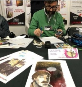 Guida al 'Lucca Comics' con i suoi disegni