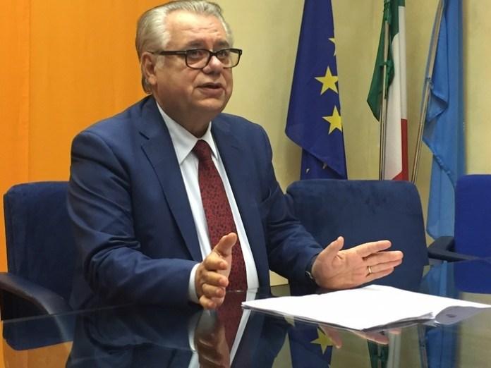 L'ex governatore Michele Iorio (ph ansa)