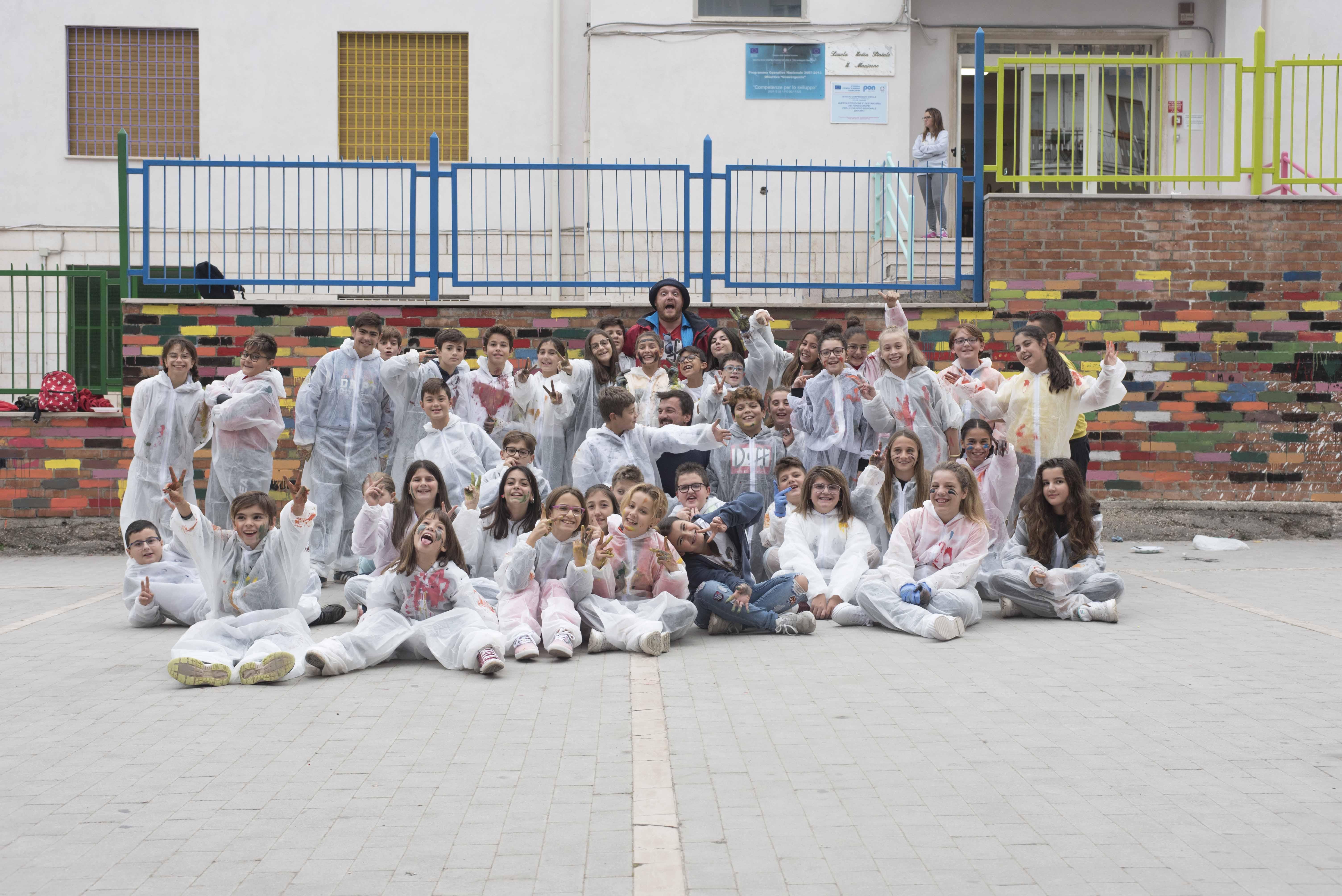 A Vico del Gargano la street art fa scuola (FOTO) - StatoQuotidiano.it