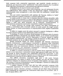 Ultima pagina relazione prefetto di Foggia, dr. Raffaele Grassi (st)