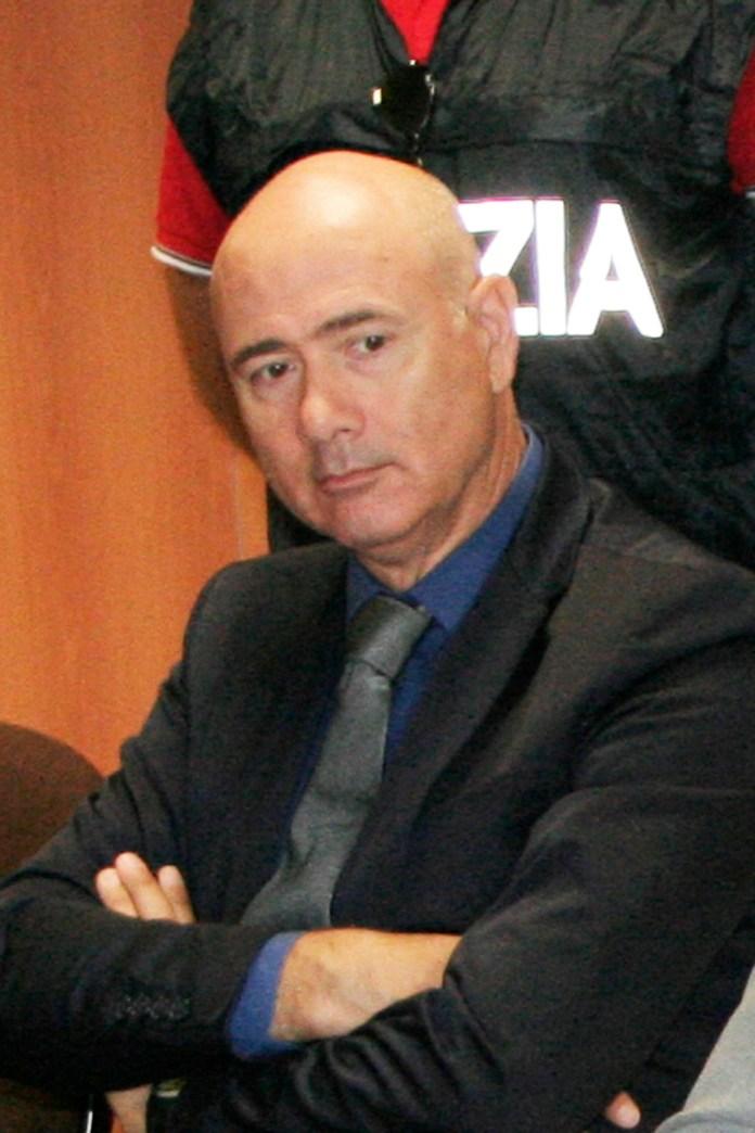 IL GIA' DIRIGENTE DELLA P.S. DI MANFREDONIA DR. AGOSTINO DE PAOLIS (PH ENZO MAIZZI)