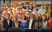 Luciano Fiore e i coristi