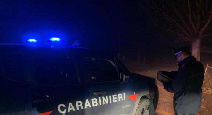 carabinieri notte (immagine d'archivio), fonte arezzoweb