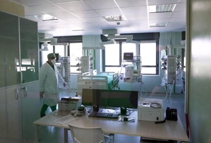 Ospedali Riuniti Corona Virus (ph enzo maizzi)