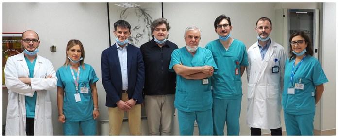 Medici e ricercatori del Laboratorio di Genetica Medica