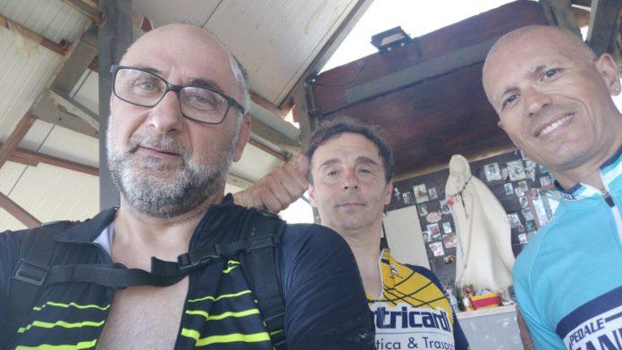 Scalano la Maielletta in bici, impresa per quattro ciclisti di Ischitella