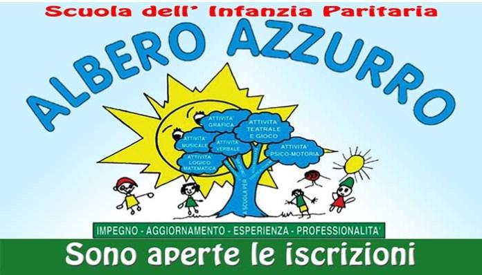 COPERTINA ALBERO AZZURRO, MANFREDONIA