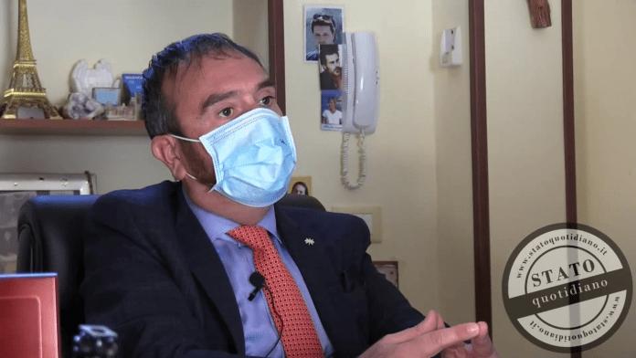 L'avvocato Giuseppe Falcone - ph vittorio agricola