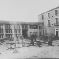 1925- Cortile Pastificio D'Onofrio & Longo