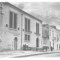Anni '20-Via Tribuna-Mulino-pastificio D'Onofrio & Longo-Locali utilizzati per asciugare la pasta