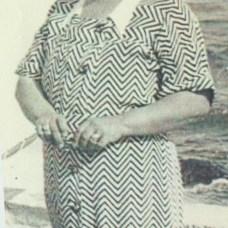 La nobildonna Rosa Longo moglie di Vincenzo D'Onofrio in giovane età