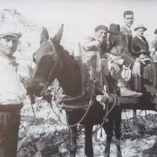 Ottobre 1931-Nella foto in primo piano Fortunato D'Onofrio, figlio di Vincenzo D'Onofrio, C. Valente, A. Di Lauro, G. Ciuffreda, N. Murgo-Foto Bellucci