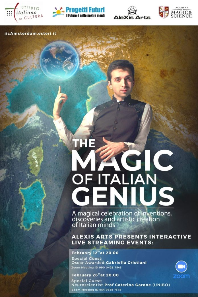 Progetti Futuri locandina The Magic of Italian Genius (2)