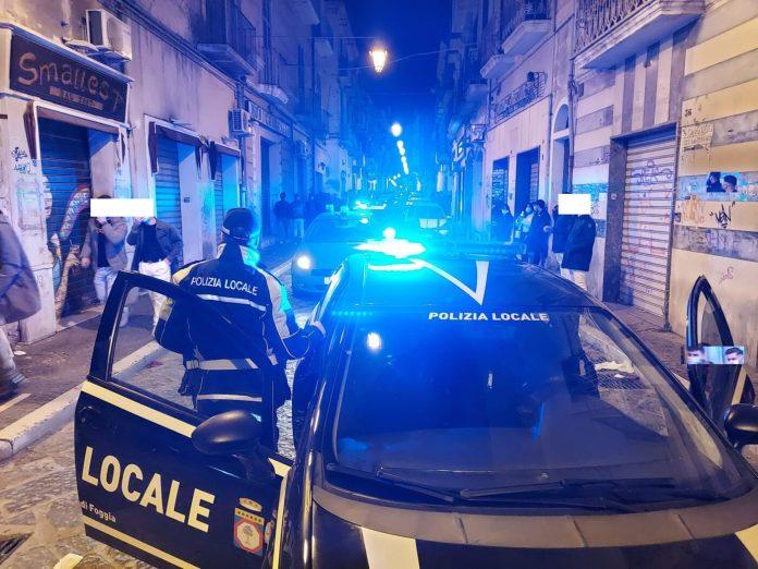 Assembramenti. Movida impazzita ieri sera a Foggia: intervento PS (FOTO)
