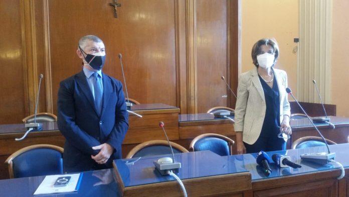 """Scalfarotto a Foggia """"Voto in autunno se il Comune non sarà sciolto per infiltrazione mafiosa"""" - ph ENZO MAIZZI"""