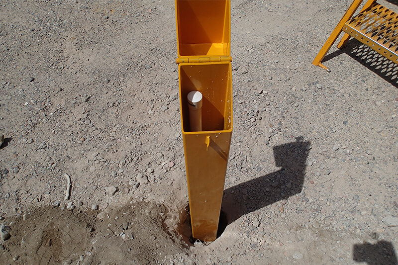 Field Tests and Techniques - Standpipe installation and Monitoring