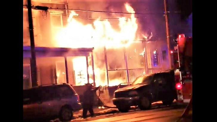 Early Video From Port Carbon Pennsylvania Third Alarm