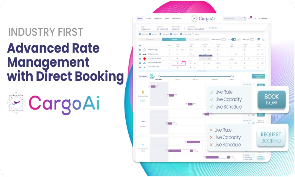 CargoAi adds rate management feature on its platform