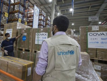 UNICEF begins shipping syringes for global Covid-19 vaccine rollout under COVAX