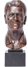 Ronald Reagan Portrait Bust