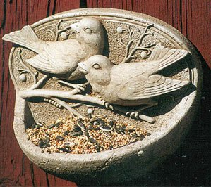 Birdfeeder Sculpture Plaque