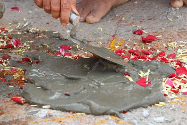 First Load of artisan stone for Thiru Tthanga Divya Desam Arrives