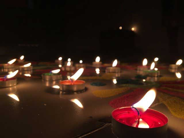 deepak rangoli designs for diwali 2020