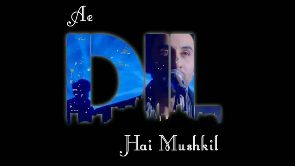 ae dil hai mushkil song status video