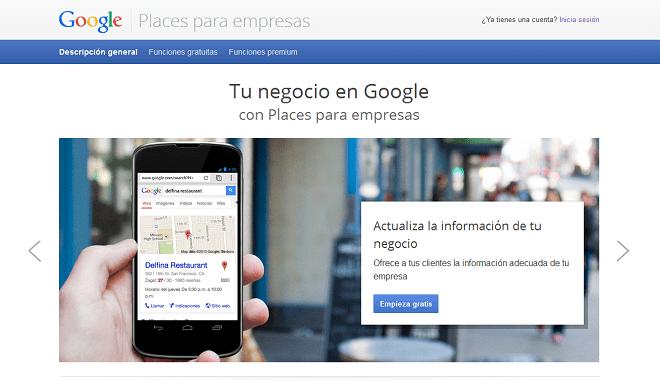 Google Places para empresas