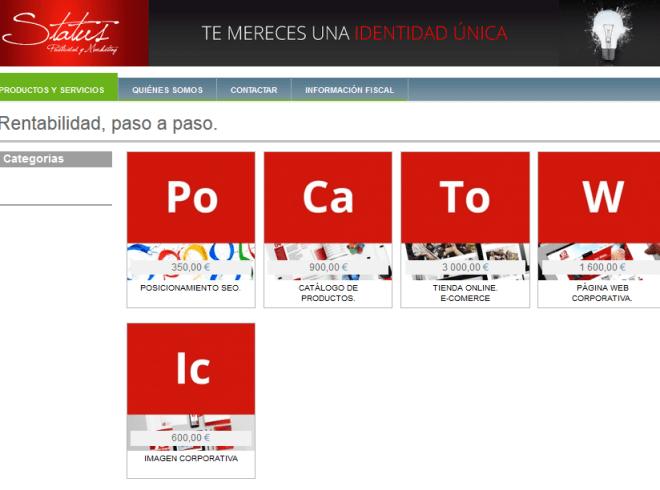 Status Publicidad y Marketing en Infocif
