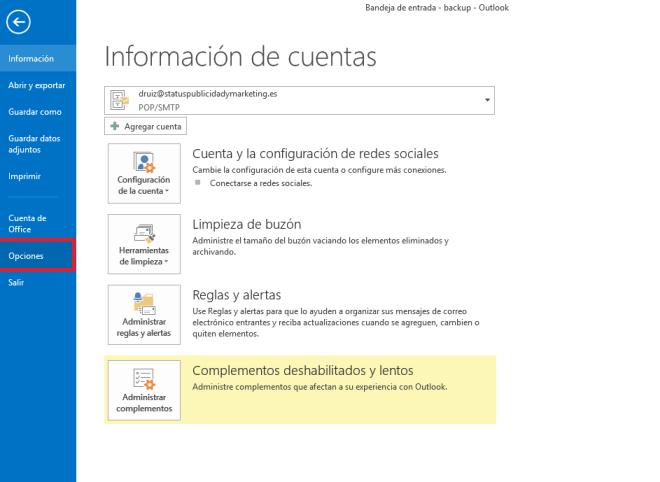 Aprende a instalar tu firma de correo en outlook 2013