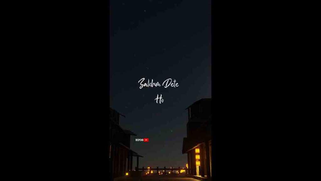 Zakham Dete Ho Kehte Ho Whatsapp Status Video Rahat Fateh Ali Khan