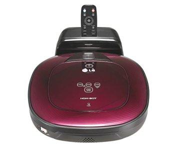 LG - CE VR 64701 LVMP Roboterstaubsauger (Dual Eye 2.0, Smart Turbo Modus) dunkel rot/schwarz - 4