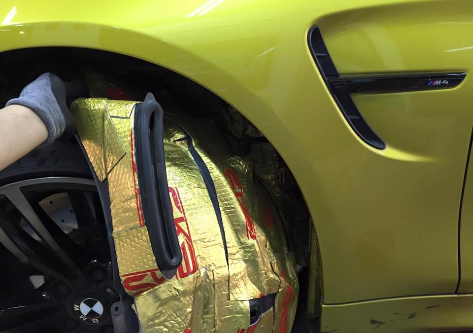 BMW Sound Proofing further improved with SKB