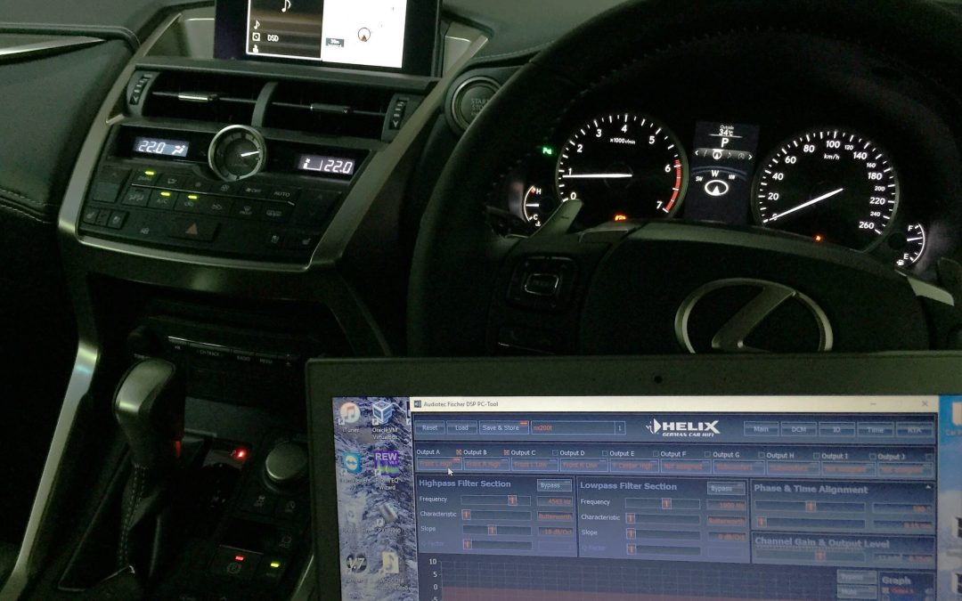 Intermediate Audio Upgrade for Lexus NX Turbo