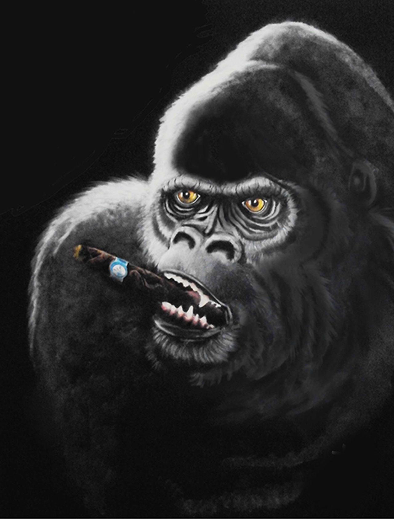 cigar-gorilla
