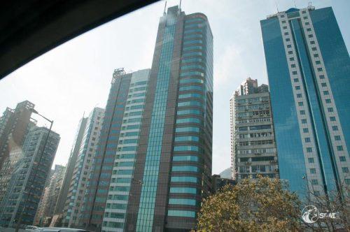 Erster Eindruck Hongkong.