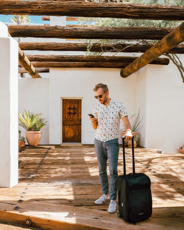 The Perfect Rough Road Carry-On Suitcase - Stay Classic