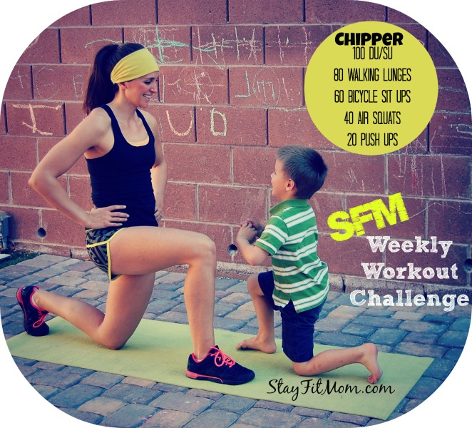 Chipper at home workout. All you need is a jumprope!