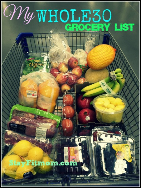 Whole30 Grocery Shopping today!