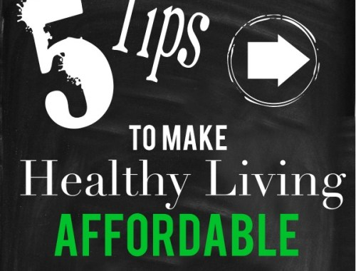 Working healthy living into my budget!