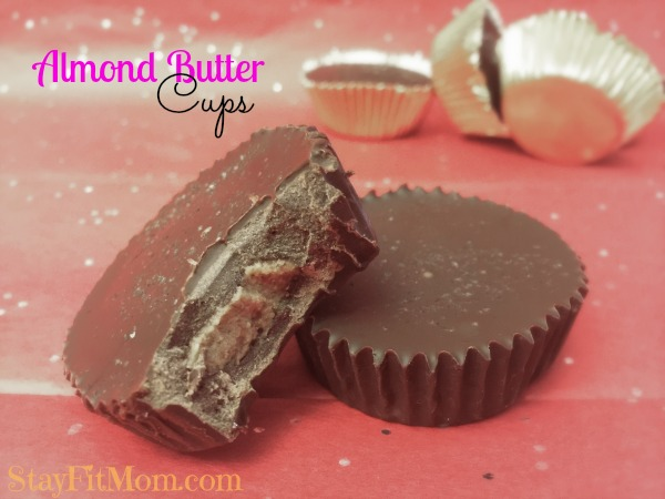 I'm going to make these for Valentines Day! A healthier version of the tradition Reese's Peanut butter cups. MMMmm....